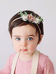 cheap -Fabric Headbands Durag Kids Flower Bowknot For New Baby Holiday Stylish Active Fuchsia and Pink Blushing Pink Dark Pink 1 Piece