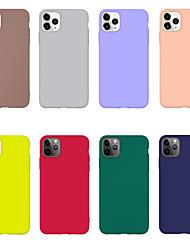 Недорогие -чехол для яблока 11 11pro 11promax x xs xr xsmax простой конфеты цвет тпу материал ультратонкой смазкой чувствовать себя чехол для мобильного телефона