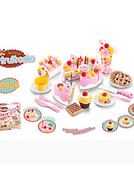 cheap -Toy Food / Play Food Play Kitchen Fun Kid's Unisex Toy Gift 75 pcs