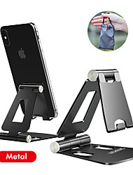cheap -iPhone Holder Stand for iPhone 11 Xiaomi Huawei Samsung Metal Phone Holder Foldable Mobile Phone Stand Desk For iPhone 7 8 X XS