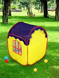 cheap -Play Tent & Tunnel Playhouse Tent Pretend Play Foldable Convenient Novelty Extra Large Polyester Nylon Indoor Outdoor Spring Summer Fall 8 to 13 Years 14 Years & Up Boys' Girls' Pop Up Indoor/Outdoor
