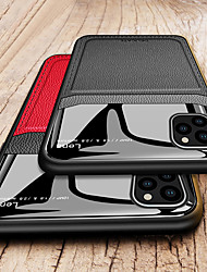 cheap -Camera Protection PC Leather Phone Case For Apple iphone 11 Pro Max XR XS Max X 8 Plus 7 Plus 6 Plus Soft TPU Shockproof Back Cover