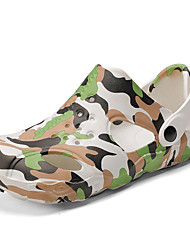 cheap -Men's PVC / PU Summer Casual Sandals Non-slipping Camouflage Green / Blue / Black