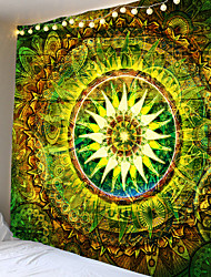 cheap -Mandala Bohemian Wall Tapestry Art Decor Blanket Curtain Hanging Home Bedroom Living Room Dorm Decoration Boho Hippie Psychedelic Floral Flower Lotus Indian