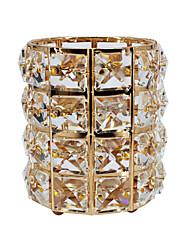 Недорогие -хрустальная кисточка для макияжа ведро для хранения золота и серебра