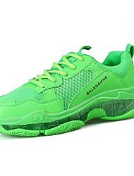 cheap -Men's Mesh Summer Athletic Shoes Walking Shoes Yellow / Orange / Green