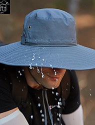 cheap -Hiking Hat Fishing Hat Fisherman Hat Hat 1 PCS Portable Sunscreen UV Resistant Breathable Floral / Botanical Polyester Autumn / Fall Spring Summer for Men's Women's Camping / Hiking Hunting Fishing