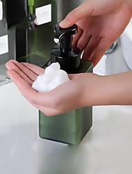 Недорогие -250 мл белый / прозрачный квадратный пены насос бутылка для мытья рук ванна для молока бутылка мусса поделки пустые бутылки игристые бутылки