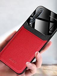 cheap -Luxury Leather Phone Case For Xiaomi Mi 10 Pro CC9 Pro Mi 9T Pro Mi 9 SE Soft TPU Shockproof Back Cover Acrylic Camera Protection