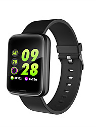 cheap -H19 Unisex Smart Wristbands Bluetooth Touch Screen Heart Rate Monitor Blood Pressure Measurement Calories Burned Long Standby Stopwatch Pedometer Call Reminder Sleep Tracker Sedentary Reminder