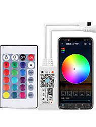 cheap -1pc 24-key RGB Colorful Controller Intelligent Wifi Controller Led Infrared Controller Lamp With Light Bar Control