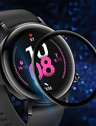 Недорогие -3 шт. Защитная пленка для часов Huawei GT2 42 мм против царапин 3d защитная пленка полного покрытия из закаленного стекла экрана