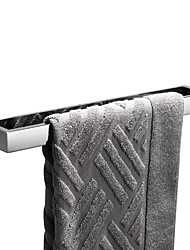 cheap -Towel Bar New Design / Self-adhesive / Creative Contemporary / Modern Stainless Steel + A Grade ABS / Stainless Steel 1pc - Bathroom Single / 1-Towel Bar Wall Mounted