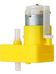 cheap -DC 3-6V Dual Axis L-Type TT Motor DC Geared Motor for Arduino