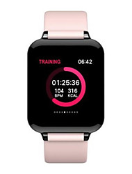 cheap -B57 Unisex Smart Wristbands Android iOS Bluetooth Heart Rate Monitor Blood Pressure Measurement Sports Calories Burned Media Control ECG+PPG Stopwatch Pedometer Call Reminder Sedentary Reminder