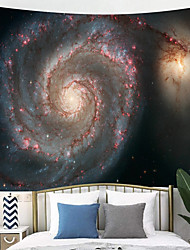 cheap -Outer Space Planet Moon Earth Stars Wall Hanging Wall Tapestry Home Art Decor Wall Decor for Kids Babys Children Bedroom Rooms Ceiling Living Room Nursery School.