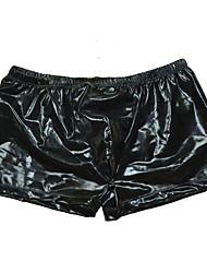cheap -Men's Basic Boxers Underwear - Normal Low Waist Black One-Size