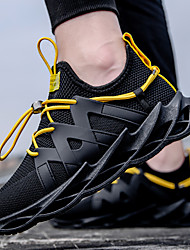 cheap -Men's Mesh Summer Sporty / Casual Trainers / Athletic Shoes Running Shoes / Walking Shoes Breathable Yellow / White / Black