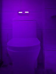 Недорогие -1 шт. Светодиодный ночник уф бактерицидный светильник датчик туалет кабинет огни с USB зарядное устройство подходит для кухни ванной батареи