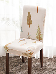 cheap -Chair Cover Print / Multi Color / Contemporary Printed Polyester Slipcovers