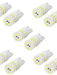 cheap -10pcs T10 W5W Led Bulb WY5W 501 2825 194 168 Ceramic Bulb 3014 30SMD Auto Lamps Super Bright LED Car Reading Dome Lights 6000K
