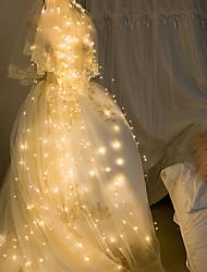 cheap -Easter lights 2m String Lights 280 LEDs LED Bud Copper Wire String Tree Tree Rattan Lamp Star Ins Decorative Solar Branch Lamp Wedding Garden Garden Lantern