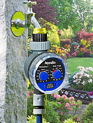 cheap -Garden Watering Timer Ball Valve Automatic Electronic Water Timer Home Garden Irrigation Timer Controller System