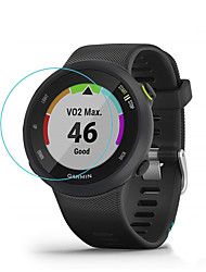 cheap -Smart watch Screen Protector for Forerunner 45 / 45s Garmin Tempered Glass High Definition (HD)  Anti Scratch Bubble Free Clear Film 1 pc