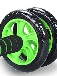 cheap -Ab Wheel Roller With Form Fit, Simple, Life Steel, Alloy For Exercise & Fitness