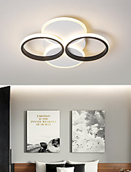 cheap -50cm Led Sitting Room Ceiling Light Warm Creative Personality Nordic Bedroom Study 50CM Ceiling light