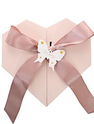 Недорогие -подарок на день матери пустая коробка в форме сердца подарочная коробка помада и парфюм подарочная коробка 22x21x10см