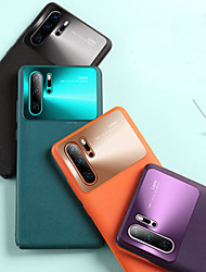 cheap -Case For Huawei Huawei P30 / Huawei P30 Pro / Mate 30 Pro Frosted Back Cover Solid Colored Rubber / Metal