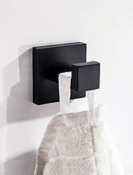 cheap -Robe Hook New Design / Creative Contemporary / Modern Stainless Steel / Low-carbon Steel / Metal 6pcs / 1pc - Bathroom Wall Mounted
