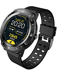 cheap -S8 Full Round-screen Smartwatch for Samsung/ IOS/ Android Phones, Bluetooth Fitness Tracker Support Heart Rate Monitor & Blood Pressure Measurement