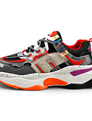 cheap -Men's Synthetics Fall / Spring & Summer Trainers / Athletic Shoes Running Shoes / Walking Shoes Breathable Yellow / Red / Green