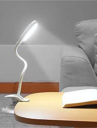 Недорогие -Настольная лампа Защите для глаз / LED Современный современный Работает от USB Назначение Спальня / Кабинет / Офис <36V Синий / Белый