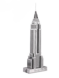cheap -3D Puzzle Wooden Puzzle Metal Puzzle Model Building Kit Wooden Model Famous buildings Sears Tower / Willis Tower compatible Metal Legoing Boys' Girls' Toy Gift / Kid's