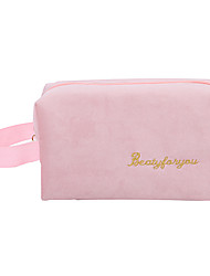 cheap -New Flannelette Multifunctional Portable Cosmetic Bag