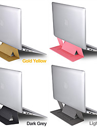 cheap -Steady Laptop Stand / Foldable / Adjustable Stand Macbook / Other Tablet / Other Laptop All-In-1 / Creative / New Design PU Leather / leatherette / Poly urethane Macbook / Other Tablet / Other Laptop