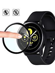 Недорогие -2 шт. / Лот защитная пленка для samsung galaxy watch active 2 40 мм 44 мм active2 полный край экрана протектор