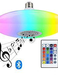 cheap -Bluetooth Music Bulb RGBW High-power 30W UFO Lamp Bluetooth Music UFO Lamp Intelligent 16-color Bulb