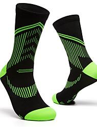 cheap -Compression Socks Athletic Sports Socks Running Socks 1 Pair Tube Socks Socks Fitness, Running & Yoga Sports Running Sports Simple Cotton Chinlon / Stretchy