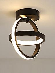 cheap -feimiao 2-Light 21 cm Geometric Shapes Flush Mount Lights Metal Silica gel Painted Finishes LED / Modern 110-120V / 220-240V