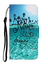 cheap -Case For Huawei P40 Lite/Nova 7SE/Y9 Prime 2019 Wallet / Card Holder / with Stand Full Body Cases Word / Phrase PU Leather For Huawei P Smart Z/P20 Lite 2019/Nova 7 Pro/Honor V30/Play 3