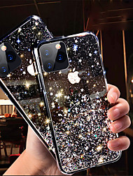 cheap -Phone Case For Apple Back Cover iPhone 11 iPhone 11 Pro iPhone 11 Pro Max Glitter Shine sky Glitter Shine TPU