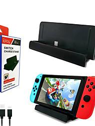 Недорогие -HB-S001 Зарядное устройство Назначение Nintendo Переключатель ,  Зарядное устройство ABS 1 pcs Ед. изм