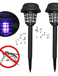 cheap -ZDM 2PCS Solar Bug Zappers Light Outdoor Solar Mosquito Repeller Light Pest Repeller for Walkway Garden Lawn Gardens Pathway Waterproof Mosquito Repeller Light Insect Repeller Lamp Insect Catcher