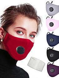 Недорогие -2pcs Спортивная маска Защита от пыли Прочный Защита антивирус Удобный Велоспорт Лиловый Зима для Универсальные / 2pcs / Полиэстер