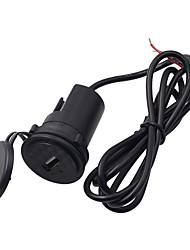 cheap -DC9-24V Motorcycle Mobile Phone Charger (with Indicator Light) / Single USB Port / with Waterproof Cover / Safety / Easy Installation