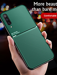 cheap -Case For Xiaomi Xiaomi Mi 10 / Xiaomi Mi 10Pro Embossed Back Cover Lines / Waves PU Leather / TPU
